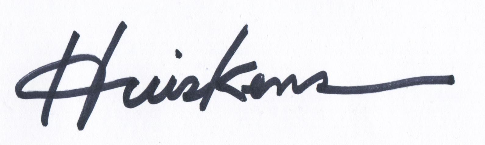 Randal Huiskens's Signature