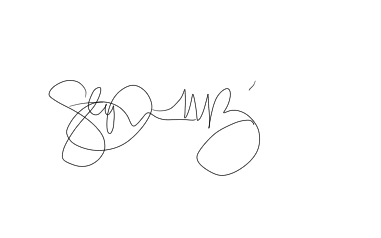 Stephanie perez's Signature