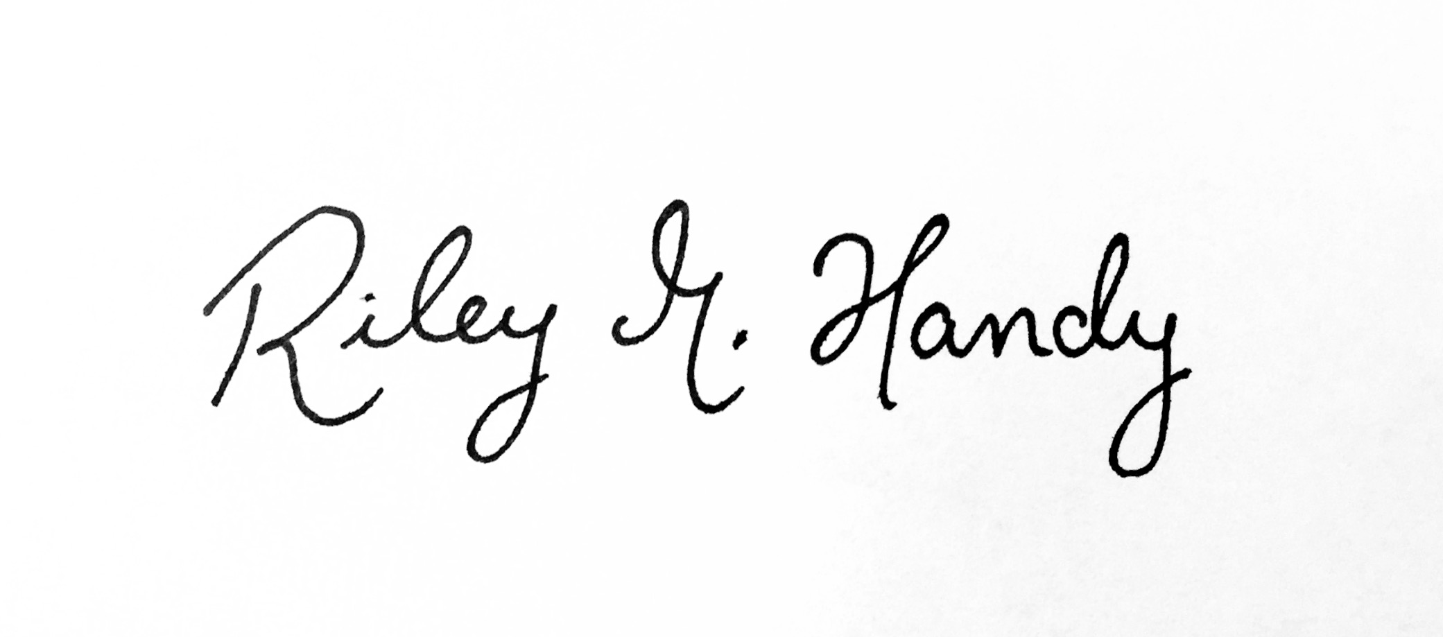 Riley marie Handy's Signature