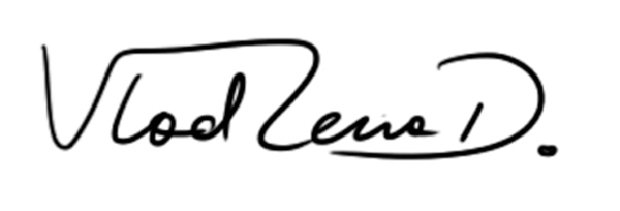 Vladlena Dyrda's Signature