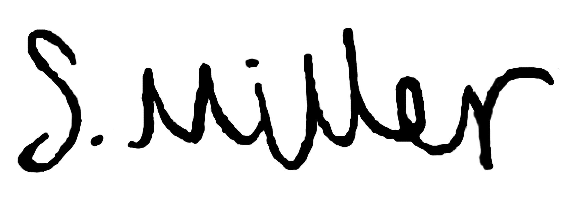 Sophie Miller's Signature
