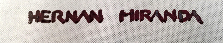 Hernan Miranda's Signature