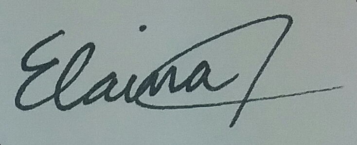 Elaina Appleby's Signature
