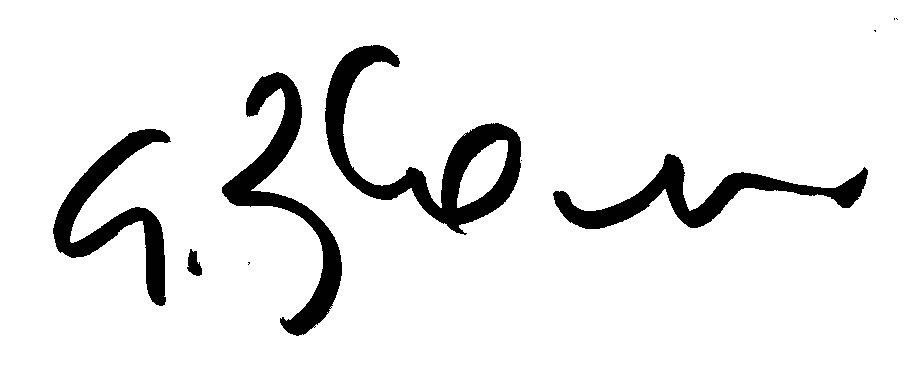 Giuseppe Boscherini's Signature