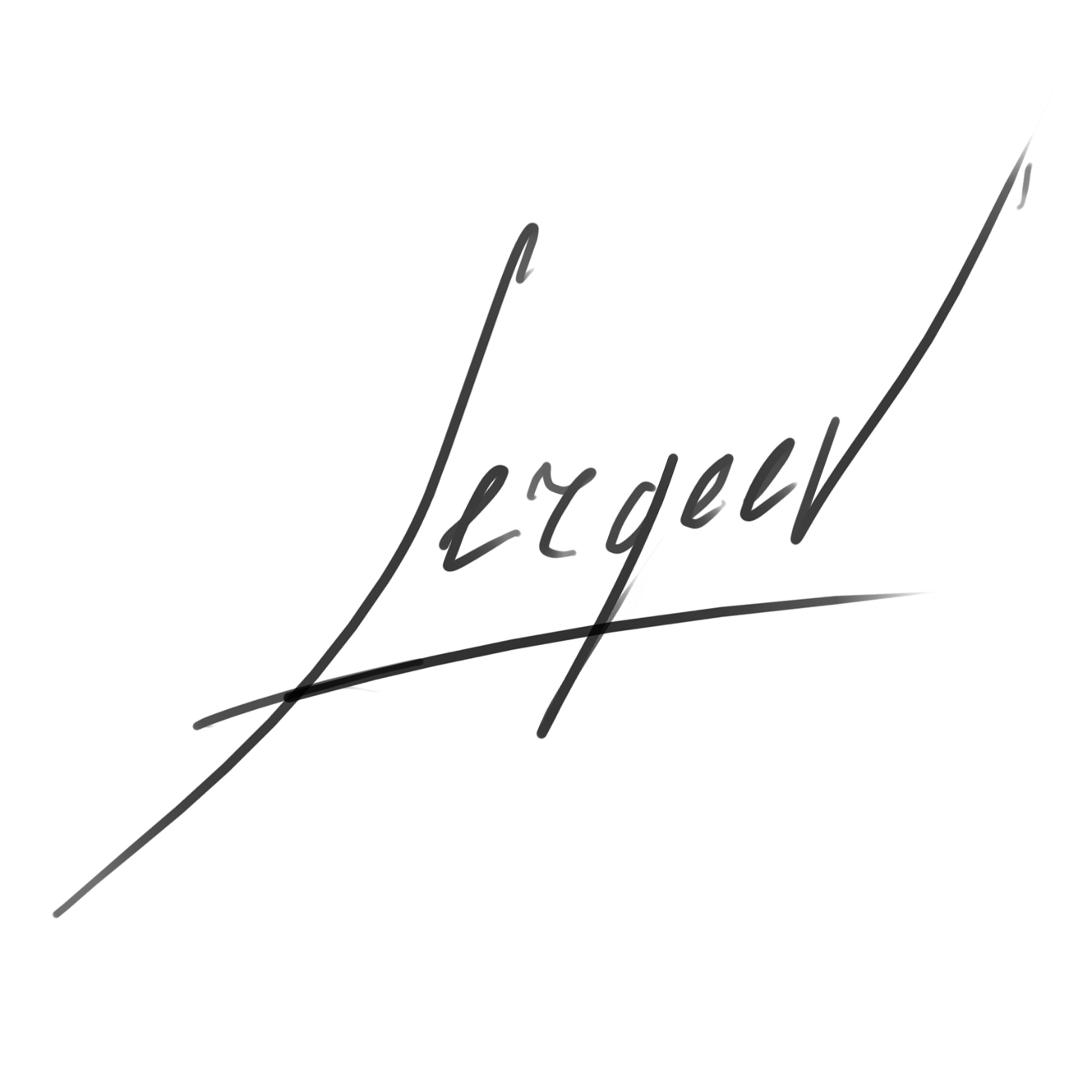 Maxim Sergeev's Signature