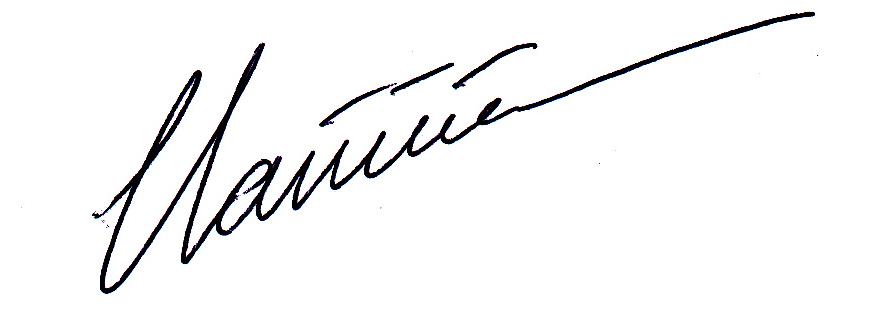 Clairicia Rene's Signature