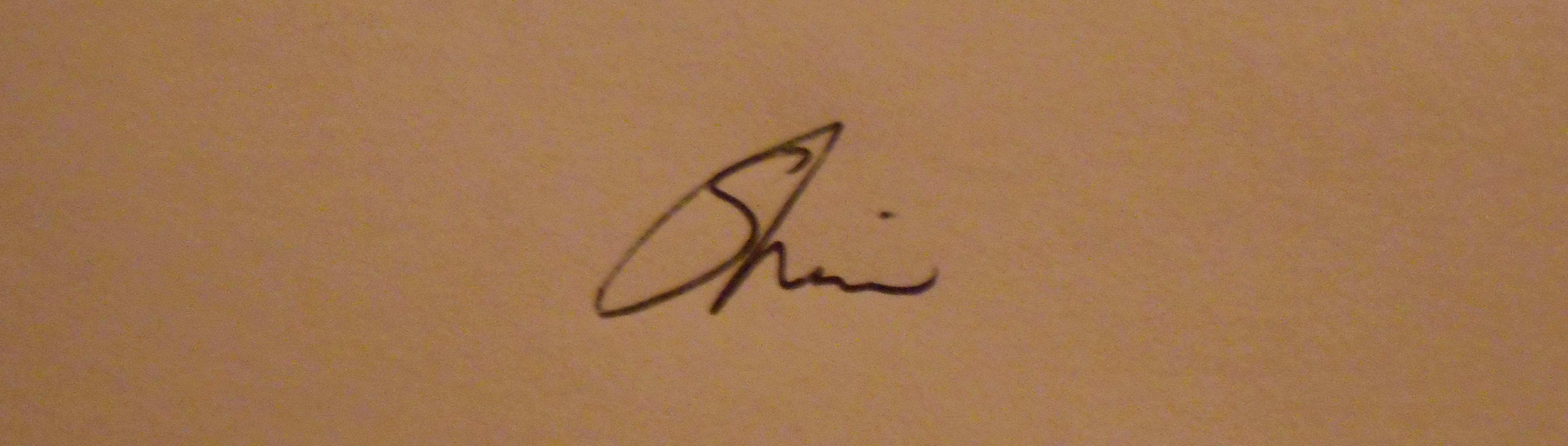 sherin's Signature