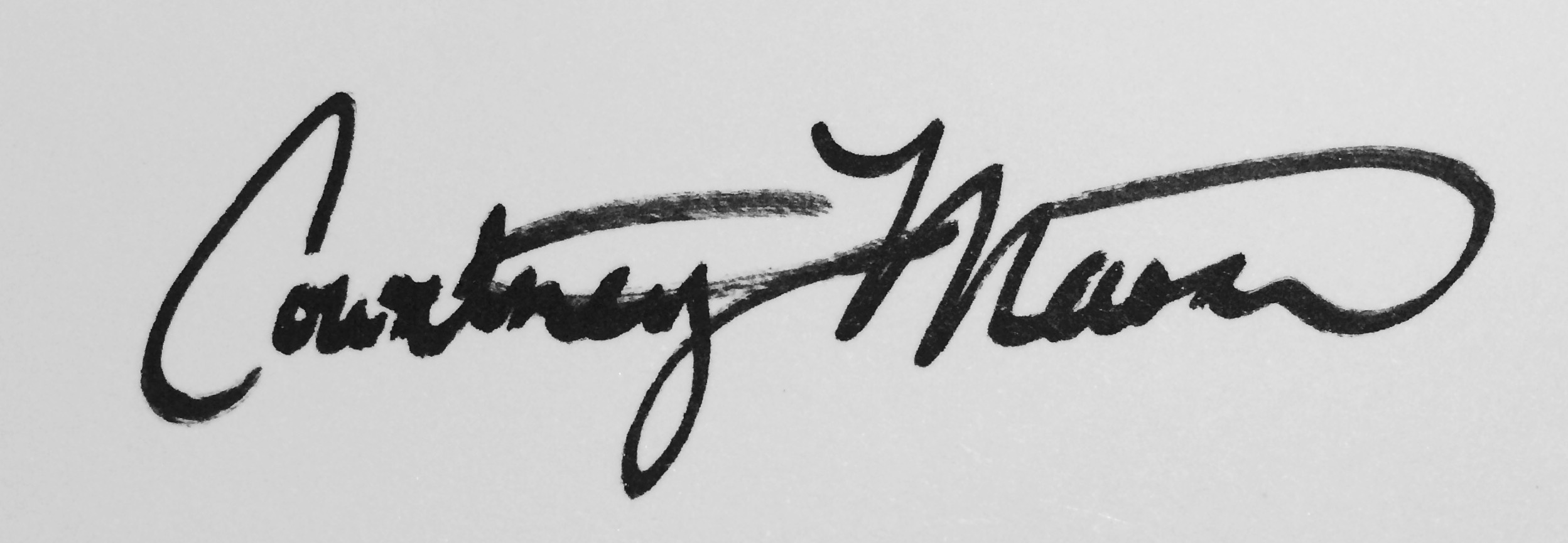 Courtney Mason's Signature