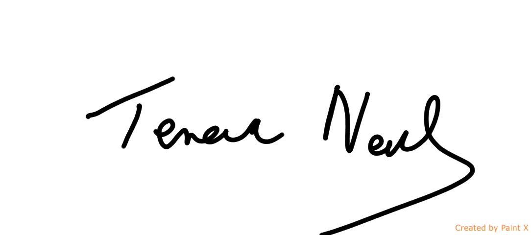 Teresa Neal's Signature