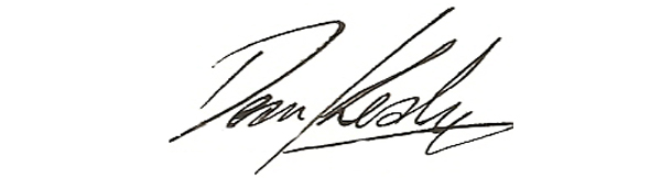 Dean Kealy's Signature