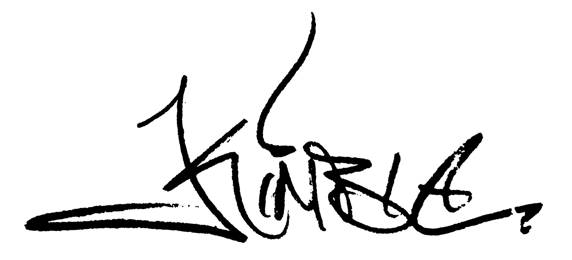 Joe Kimble's Signature