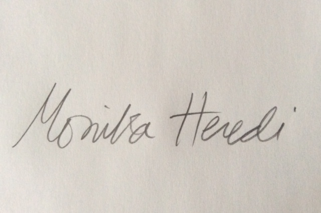 Monika Heredi's Signature