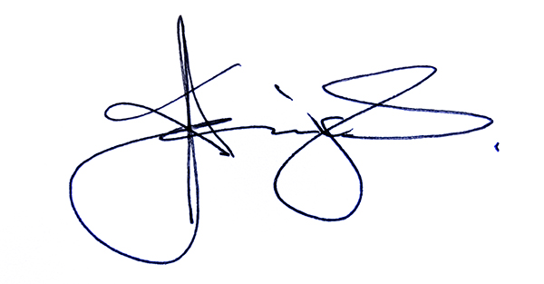 Kadira Jennings's Signature