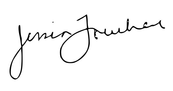 Jess Lowcher's Signature