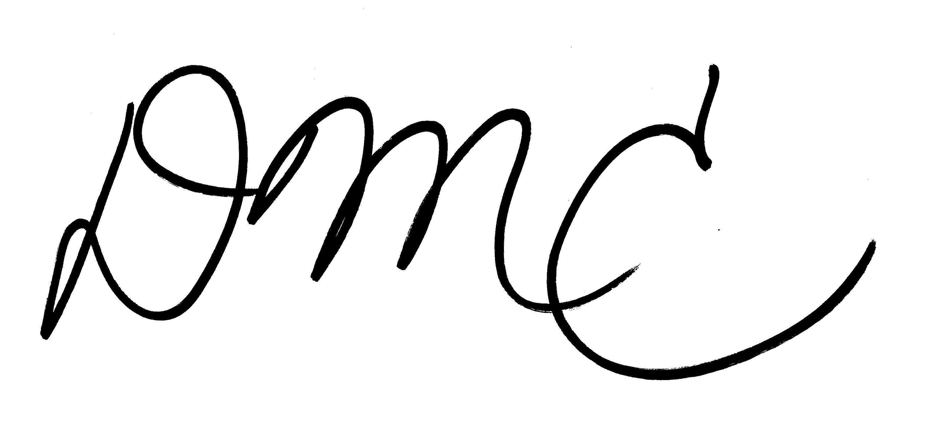 Daniel Cassat's Signature