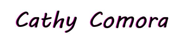 Cathy Comora's Signature