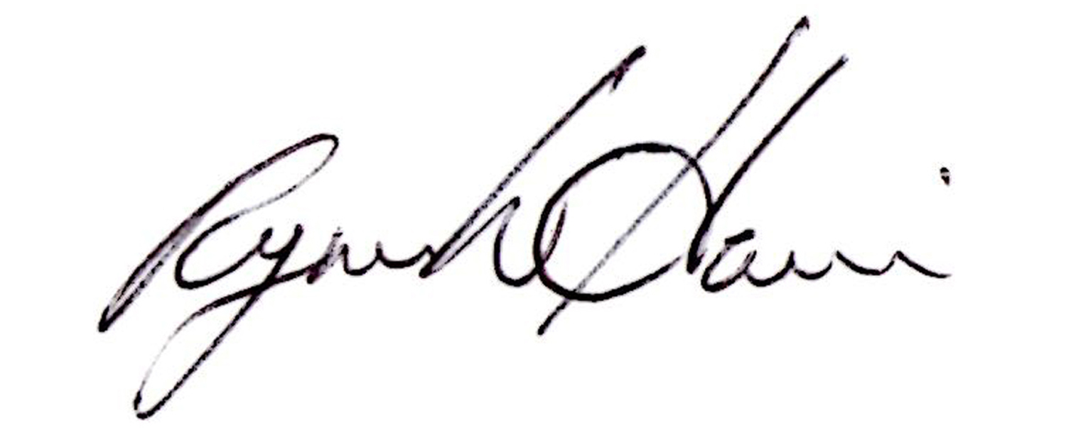 Ryan Harris's Signature