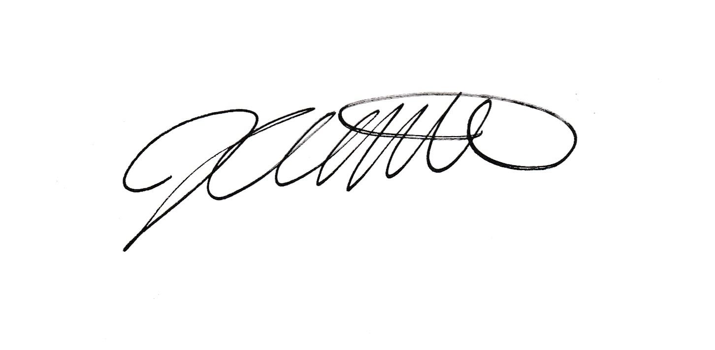Jessica Millard's Signature
