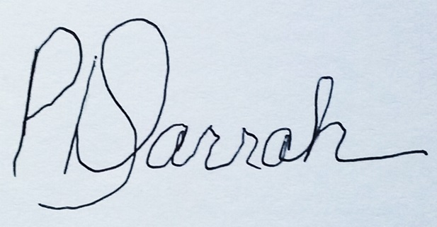 Dusty Darrah's Signature
