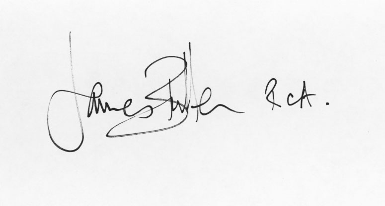 james bullen's Signature
