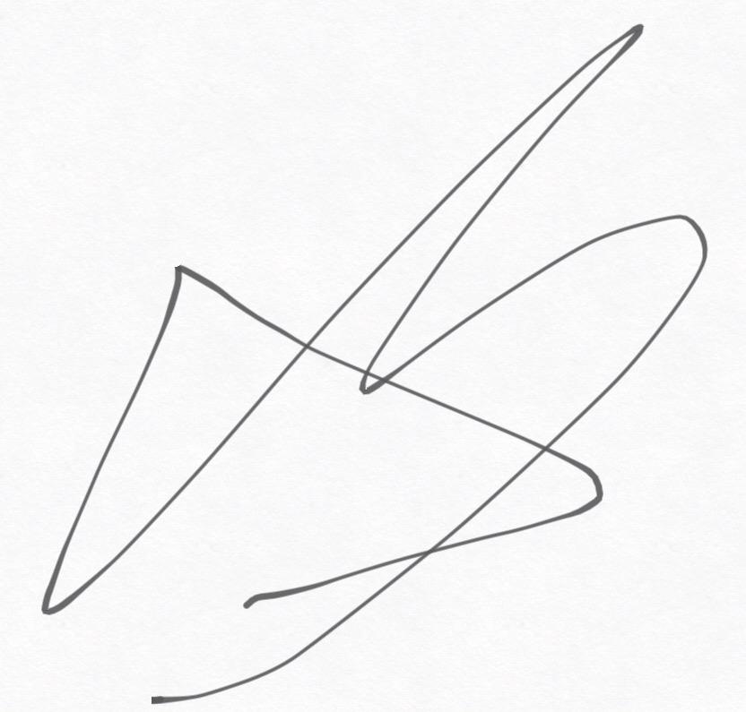 Alejandro Diaz's Signature