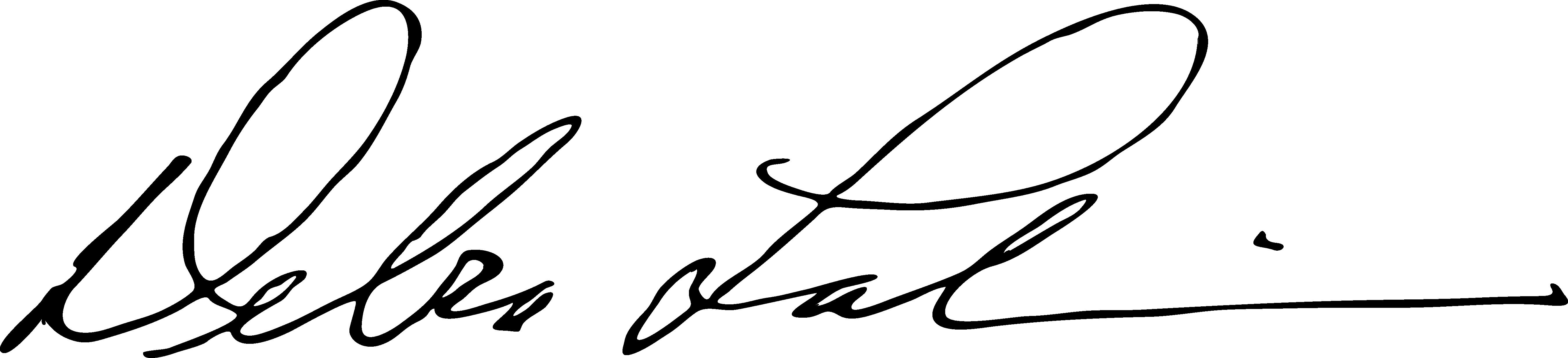 debra lalumia's Signature