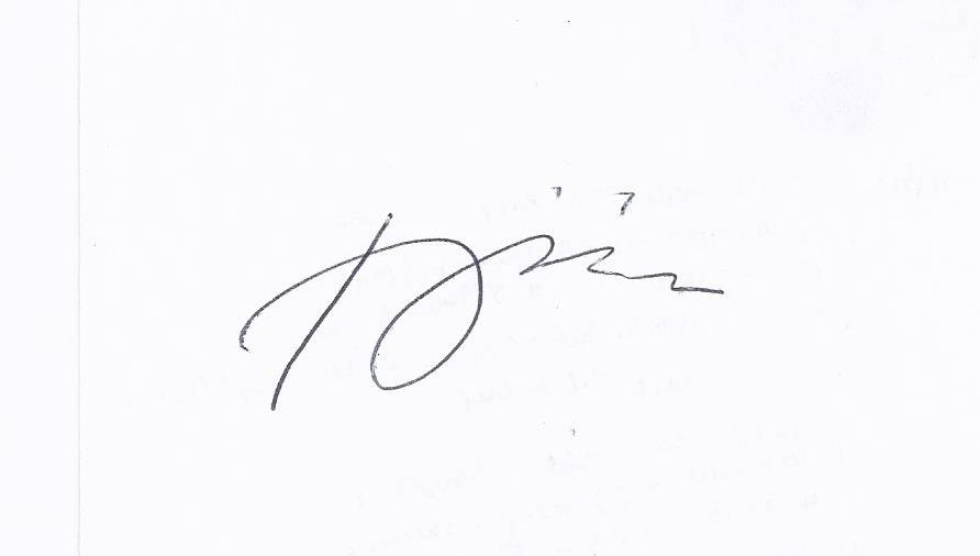 Remegio onia's Signature