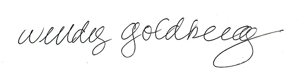 Wendy Goldberg's Signature