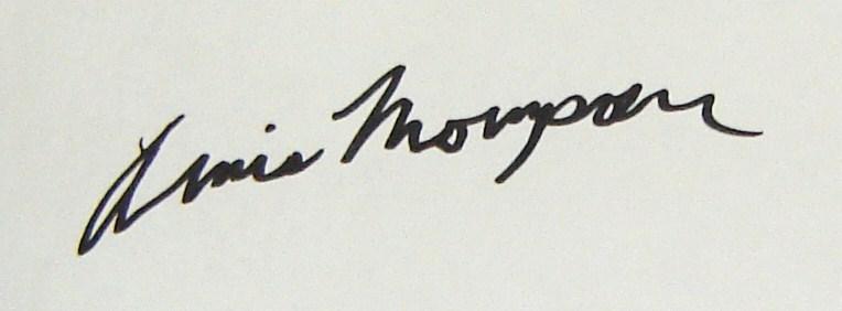 Annis Thompson's Signature