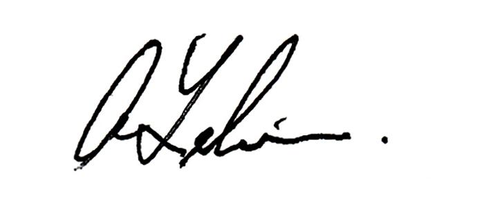 Ab Lelievre's Signature