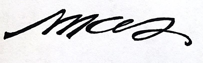 Marie Sabourin's Signature