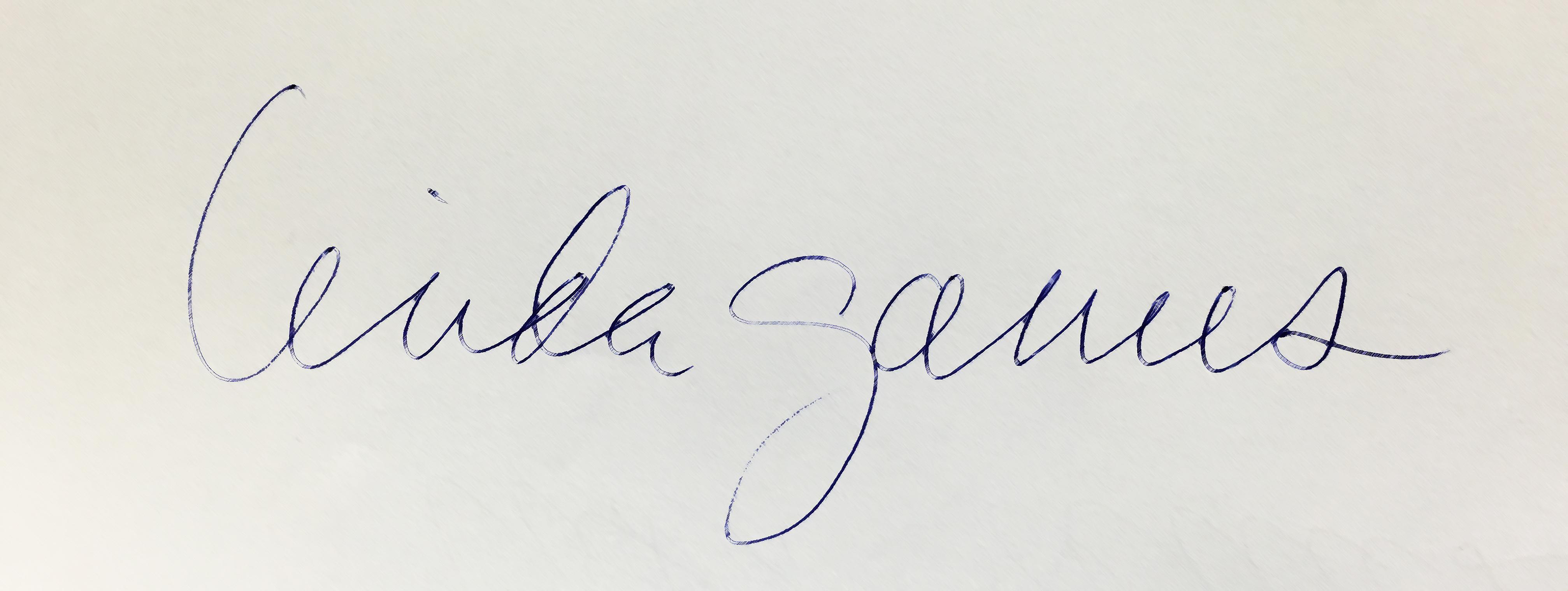 Linda Ganus's Signature