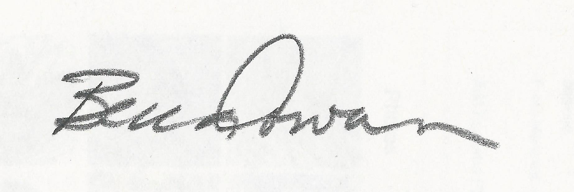 Becca Cowan's Signature