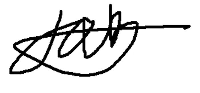 Anton Galin's Signature
