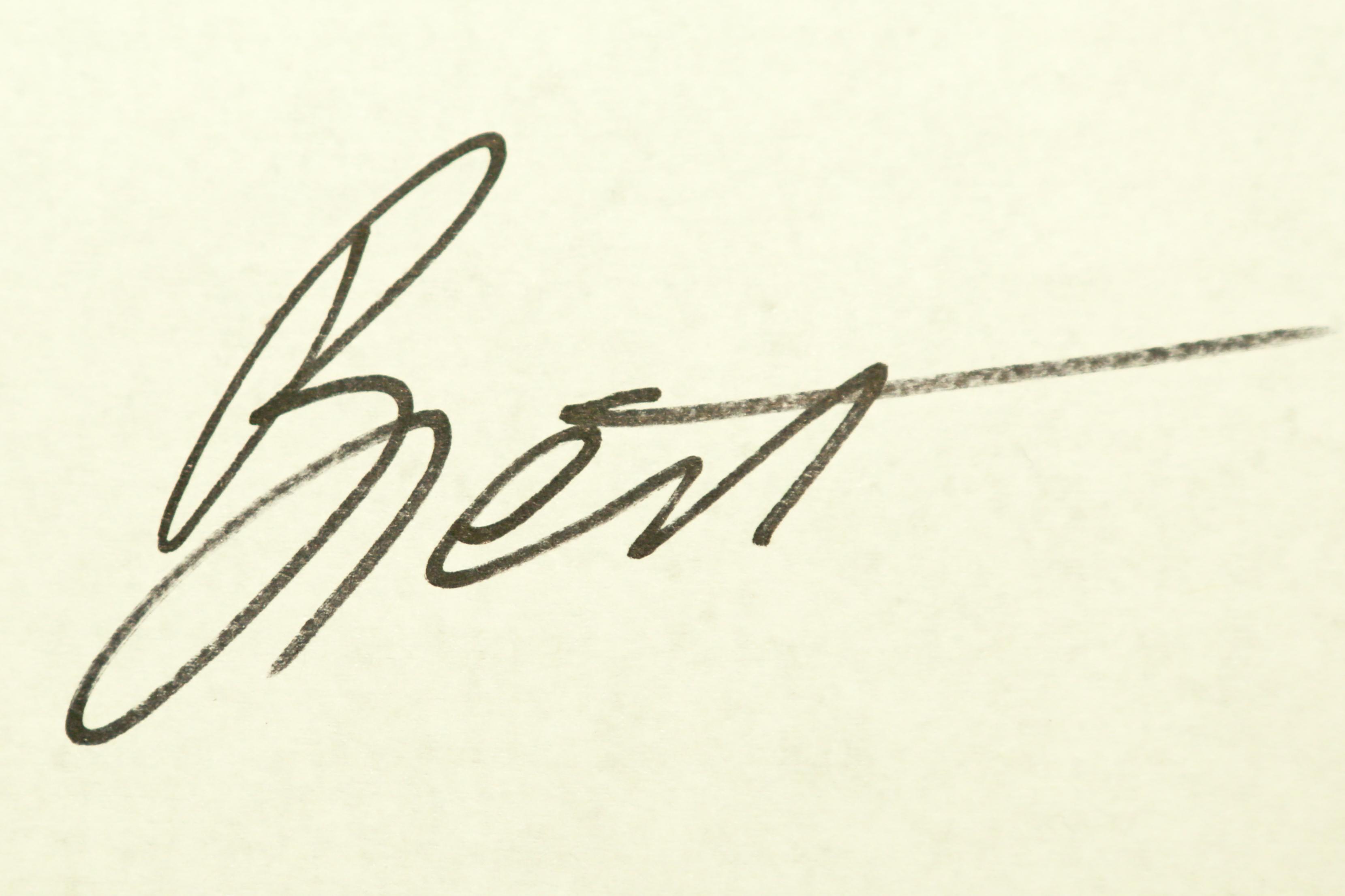 Brett Gorzalski's Signature