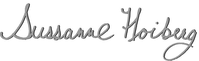 Sussanne Hoiberg's Signature
