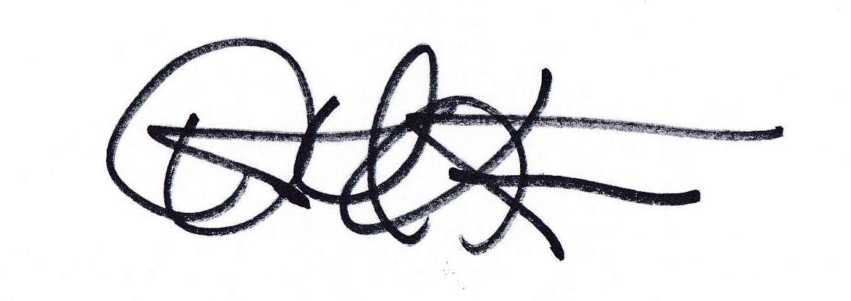 Kent LeFevre's Signature