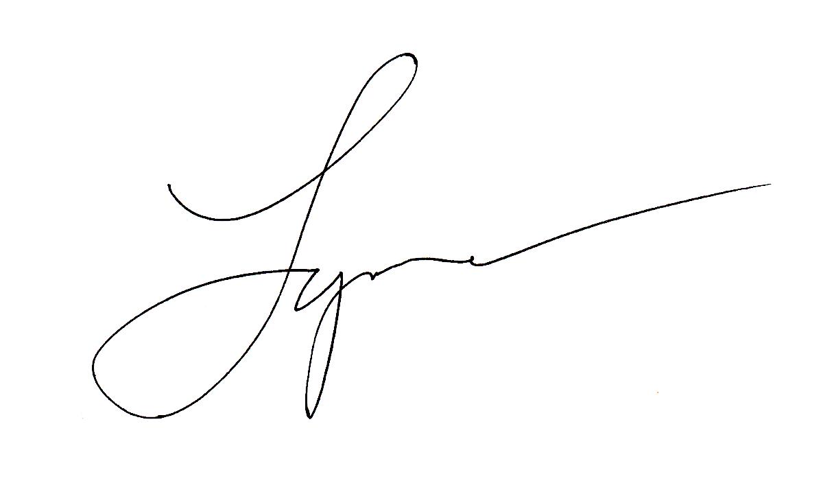 Lynne Furrer's Signature