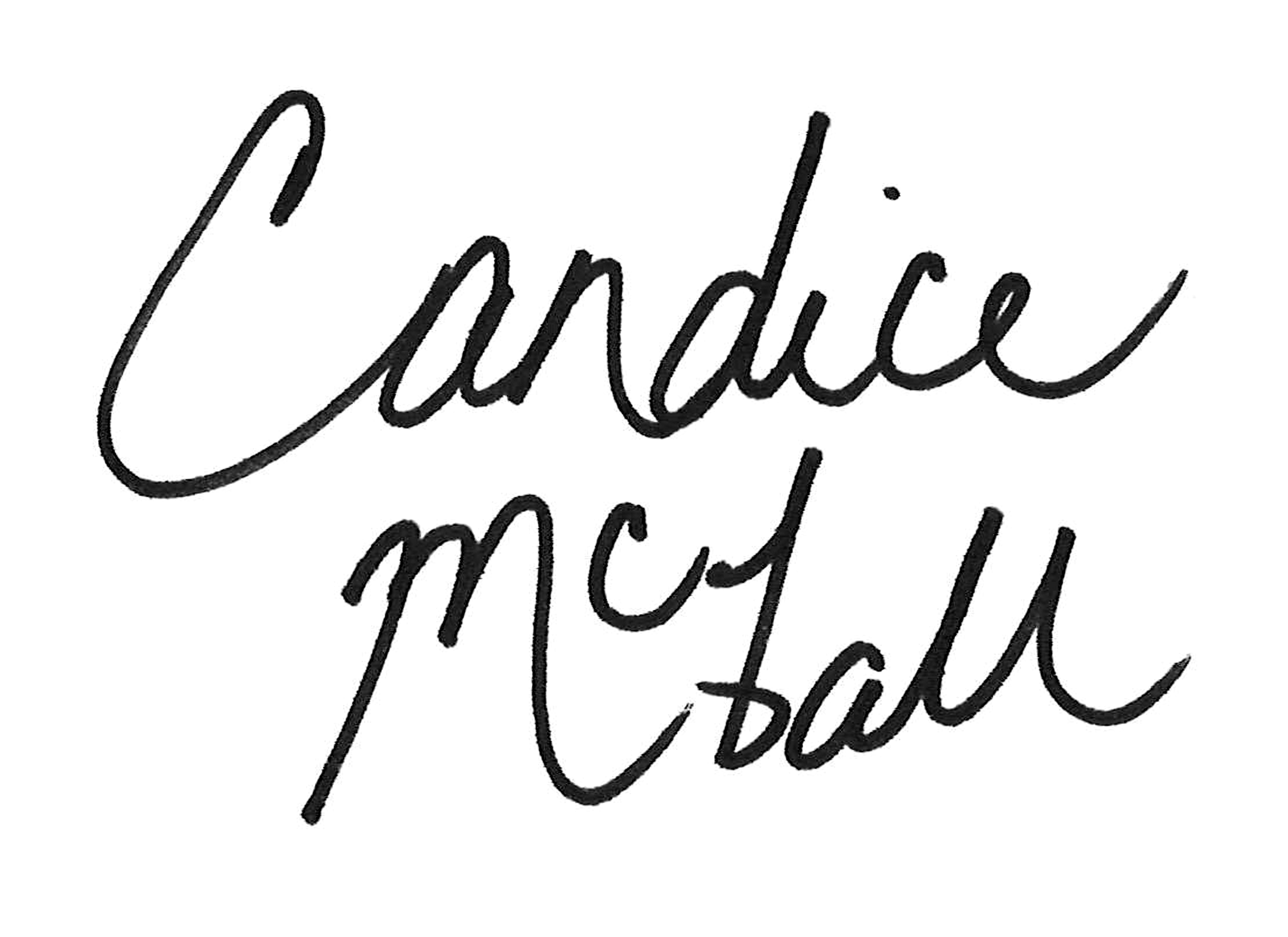 Candice McFall's Signature