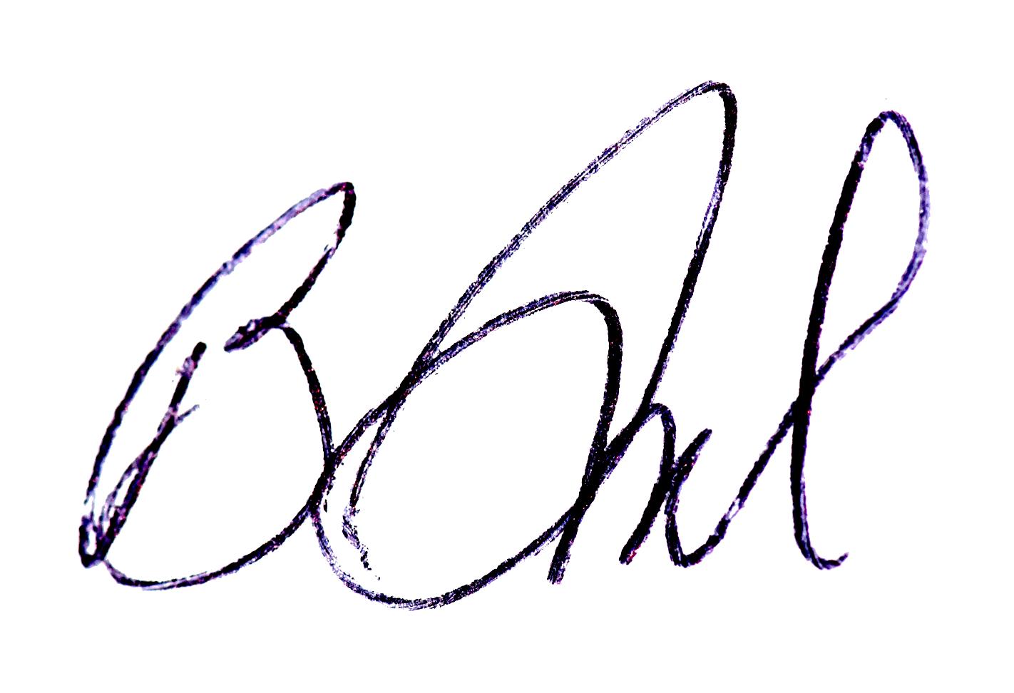 Becky Grassl's Signature