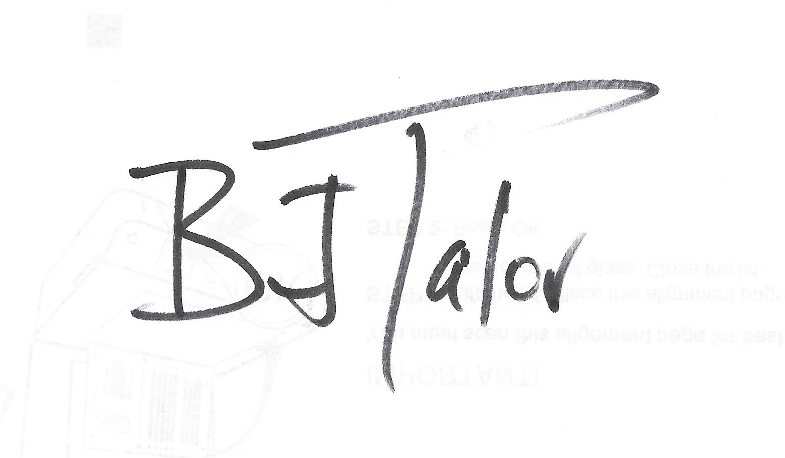 BJ Talor's Signature