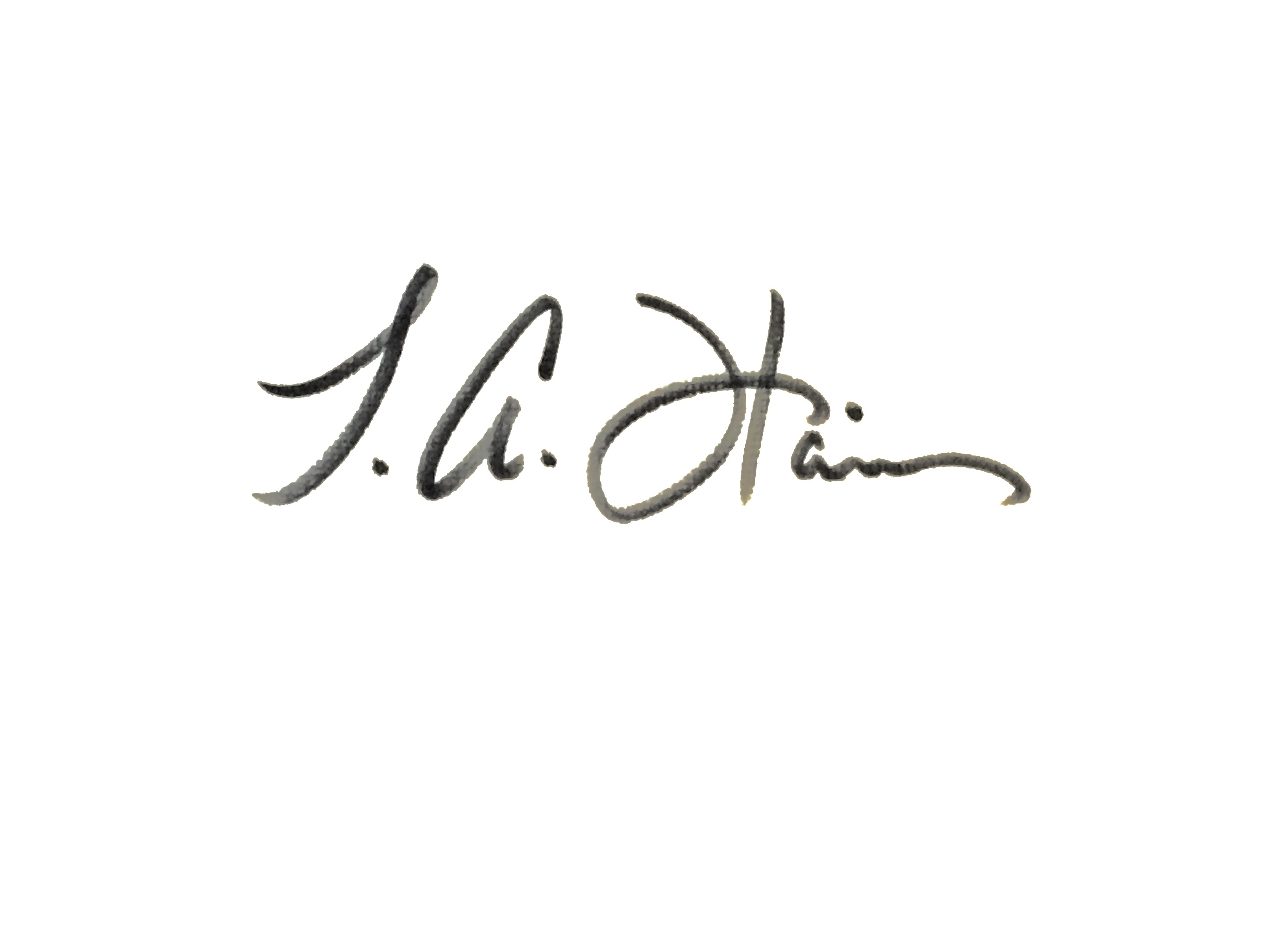 Tiffany Anne Harris's Signature