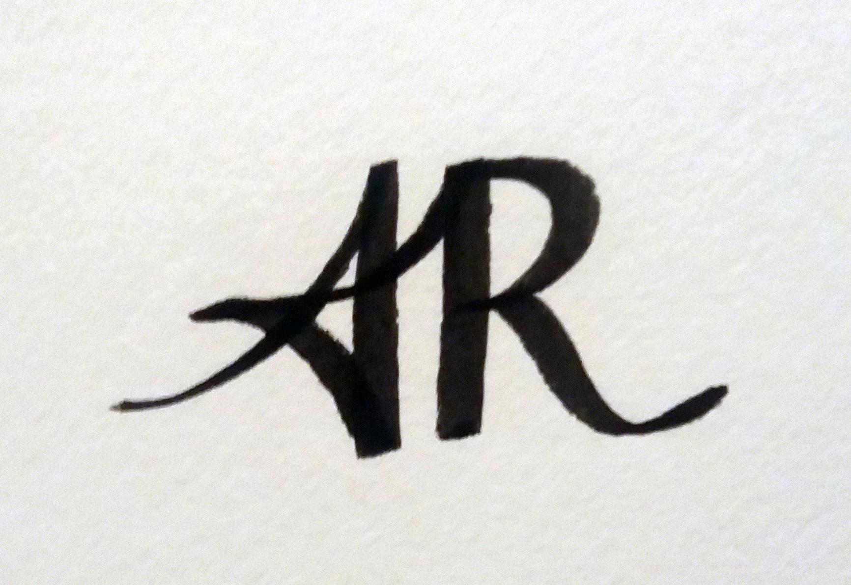 Andrew Robinson's Signature
