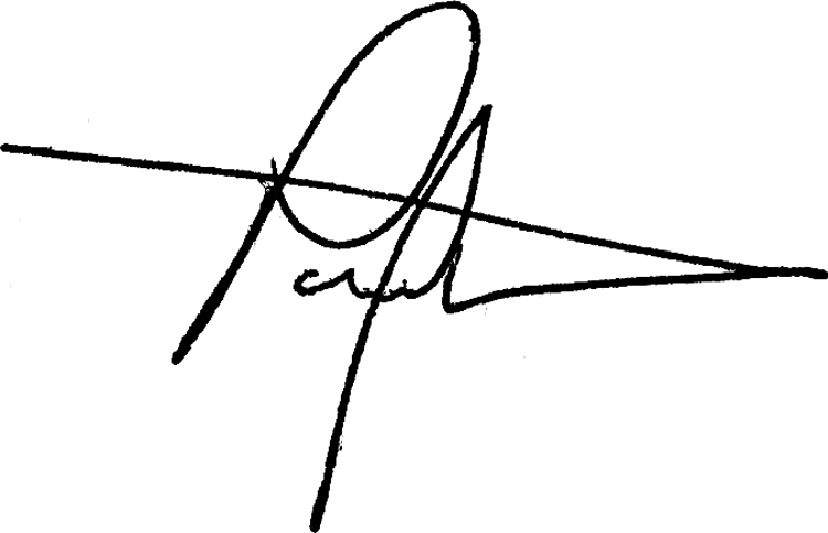 Paul Westermann's Signature