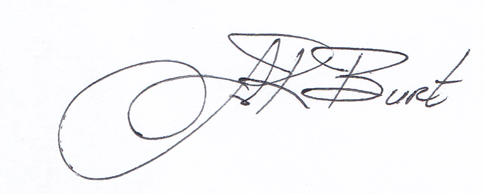 John Burt's Signature