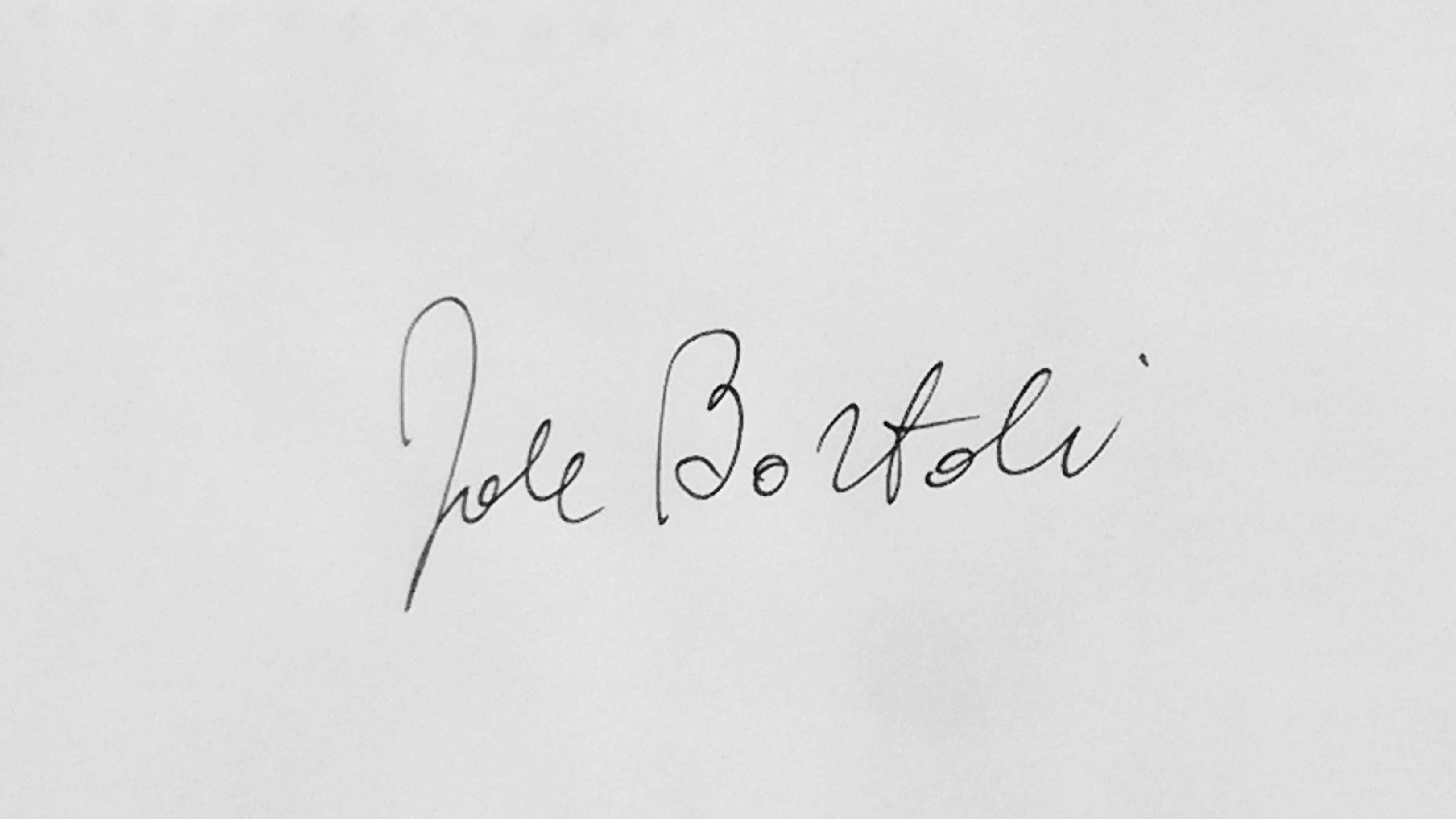 Jole Bortoli's Signature