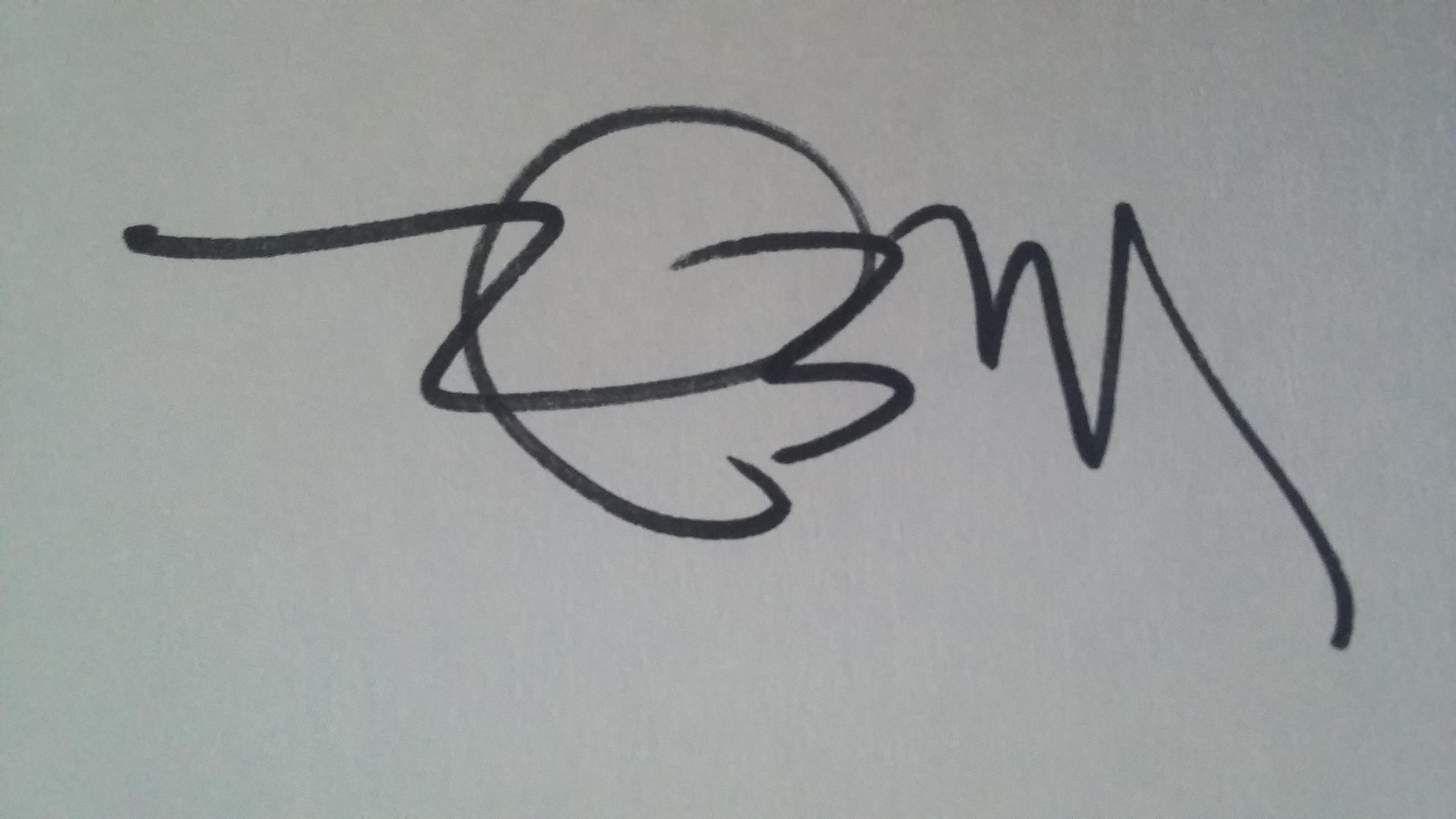 Maria Elena Ferran's Signature
