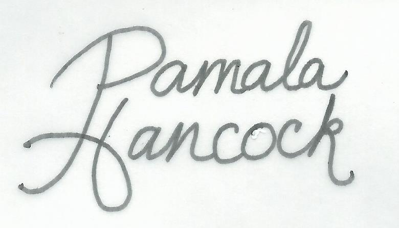 Pamala Hancock's Signature