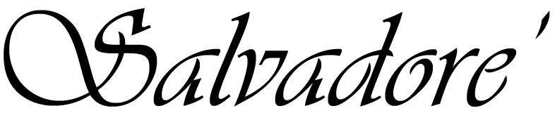 Salvadore' Espina's Signature