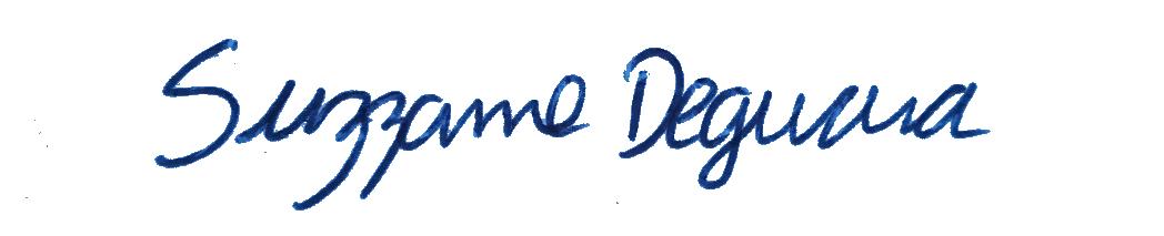 Suzzanne Deguara's Signature